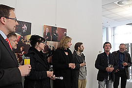 Vernissage in der Sparkasse Zittau
